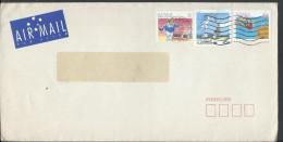 Australia Airmail Sports 1989 Definitives Sports, Skateboarding, Bowling, Living Together 45c Health - Skateboard