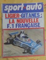 SPORT AUTO. N°164. SEPTEMBRE 1975. LIGIER - GITANES. LA NOUVELLE  F.1 FRANÇAISE - Sport