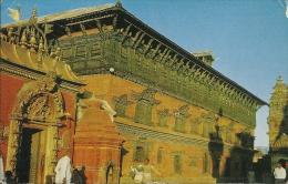 NEPAL BHADGAON Palace Of 55 Windows E Golden Gate  Nice Stamp - Nepal