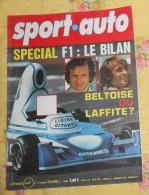 SPORT AUTO. N°167. DÉCEMBRE 1975. SPÉCIAL F1 : LE BILAN. BELTOISE OU LAFFITE ? - Sport