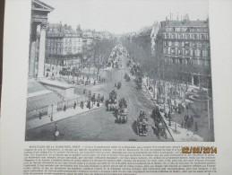 Boulevard De La Madeleine  Paris   + Abbaye De Westminster - Arrondissement: 08