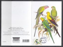 Australia National Library, Princess, Superb And Regent Parrots Greeting Card - Parrots
