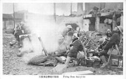 Guerre De CHINE  -  Japonnais  -  Firing From San-yi-lee   -  ¤¤ - Chine