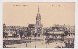 MALO LES BAINS - N° 37 - LA PLACE DE L' EGLISE AVEC KIOSQUE - Malo Les Bains