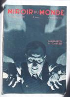 LE MIROIR DU MONDE:1934:MARIONNETTES.EPOPEE COLONIALE.CANARIE.Etc........ - Zeitungen