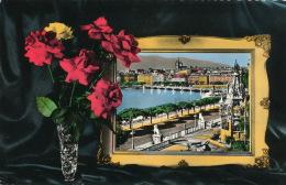 SUISSE - GENEVE - Monument Brunswick Et Vue Sur La Ville (1958) - GE Genève