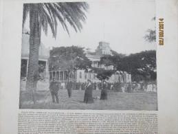 Photogravure 1895 ILES SANDWICH  HONOLULU        Grande  Photo Palais Royal - Postcards