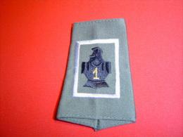 PASSANT D'EPAULE 1°RG / 1° REGIMENT  DE GENIE / CCL - Patches