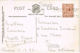 10484. Postal LONDON (Gran Bretaña) 1933, Tower Bridge And Tower Of London - 1902-1951 (Koningen)