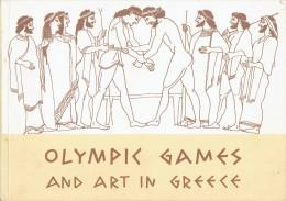 OLYMPIC GAMES AND ART IN GREECE - JEUX OLYMPIQUES ET ART EN GRÈCE - ATHENS 1956 - (3746) - Histoire De L'Art Et Critique