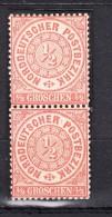 NDP Norddeutscher Postbezirk 1/2 Groschen 1869 - Ungebraucht - Norddeutscher Postbezirk