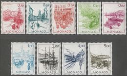 Monaco - Serie YT - Monaco D'Autrefois (II) N° 1510 à 1518 (1986) - Monaco