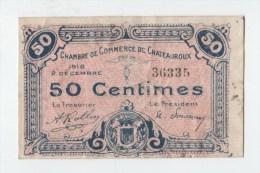 CHAMBRE DE  COMMERCE DE CHATEAUROUX.1918 - Chambre De Commerce