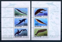 North Korea 1992 Corea Del Norte / Sea Mammals Whales Dolphins MNH Ballenas Delfines / C7437   30-25 - Balene