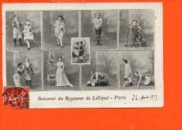 Spectacle -   Cirque - Souvenir Du Royaume De Lilliput - Paris - (état ) - Circo