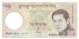 Bhutan 50 Ngultrum 2008 UNC .S. - Bhutan