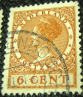 Netherlands 1924 Queen Wilhelmina 6c - Used - 1891-1948 (Wilhelmine)