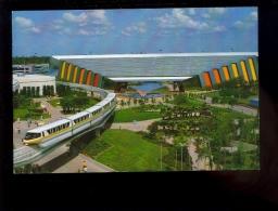 WALT DISNEY WORLD Universe Of Energy Epcot  ( Sustained Magnetic Levitating Train à Sustentation Magnetique Monorail - Etats-Unis