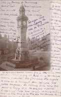 CPA  Royaune Uni SIR Smith Child Memorial Tunstall circul�e 1905