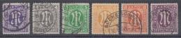 AM-Post Minr.210-15 Gestempelt Gute Stempel - Bizone