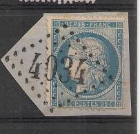 GC 4034 TROYES Aube Sur Cérès. - Marcophilie (Timbres Détachés)