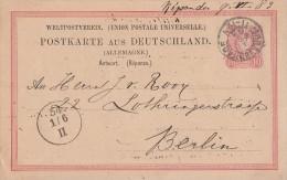 DR GS Mit Holl. Stempel Sgravenhage 31.5.83 Gel. Nach Berlin - Deutschland