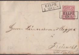 NDP Brief EF Minr.16 Eilpe 5.12.1871 - Norddeutscher Postbezirk