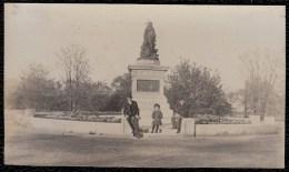 LATE 1800 OLD PHOTOCARD CHICAGO * INDIAN ALARM ( John J. Boyle 1884 ) * IN LINCOLN PARK - Photos