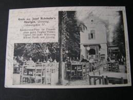 == Wien Grinzing Coblenzgasse -  Heurigen Restaurant  1896 Nach Wehrdorf - Grinzing