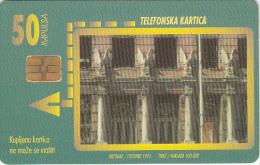 BOSNIA - Zgrada Glavne Poste(50 Units), 10/97, Used - Bosnia