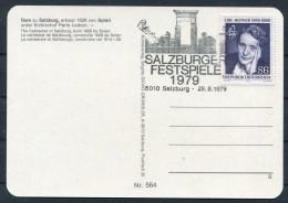 1979 Austria Salzburg Festival Postcards (3) - Music