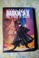 Dvd Zone 2 Darkman 2 The Return Of Durant Bradford May  2000 Vostfr + Vfr - Sciences-Fictions Et Fantaisie