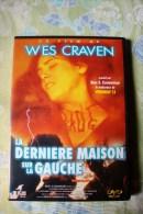 Dvd Zone 2 La Dernière Maison Sur La Gauche Wes Craven 1972 Vostfr + Vfr - Horror