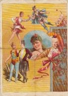 Superbe Programme Cirque Clown Central Theater Wallratsplatz Format A4 - Programmes