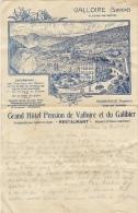 Superbe Grand Hotel Pension De Valoire Et Du Galibier Savoie Alpes - Sports & Tourisme