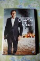 Dvd Zone 2 Quantum Of Solace James Bond 007 Marc Forster 2008 Vostfr + Vfr - Sciences-Fictions Et Fantaisie