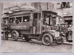 """Carte Moderne - """"Il était Une Fois L'Auvergne"""" - 41. Vieux Saurer Ancêtre Du Pullman - 1910 - Busse & Reisebusse"""