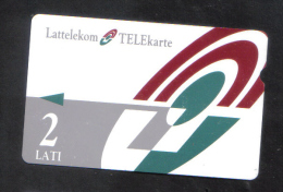 LATVIA - USED  PHONECARD / RARE 1990s - Latvia