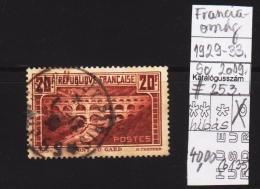 France 1929-33. Michel 242 A EUR 25 EUR (b 135) - France