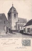 Hekelgem  Rond aalst   De Kerk  circul� en 1903