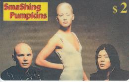 USA - SmaShing Pumpkins, Sprint Promotion Prepaid Card, 06/98, Mint