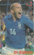 USA - Football/Di Biagio, Sprint Promotion Prepaid Card, 06/98, Mint