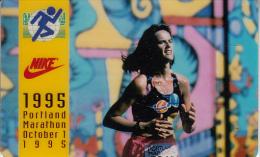 USA - Portland Marathon 1995, HT Technologies Collectible Phonecard 10 Units, Mint - Sport