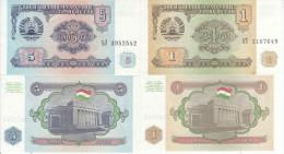 TAJIKISTAN 1 5 RUBLI 1994 FDS UNC EX URSS CCCP - Tagikistan
