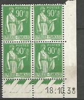 COIN DATE N� 367 / 1938 NEUF* TB