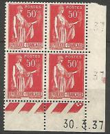 COIN DATE N� 283 / 1937 NEUF** TTB