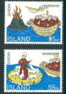 1994 - Islanda 753/54 Vulcano - Volcanes