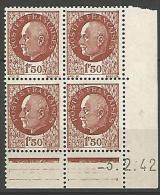 COIN DATE  N� 517  / 1942 NEUF* TTB