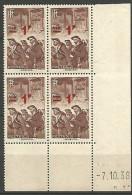 COIN DATE  N� 489  / 1938 NEUF** TTB