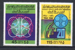 1980,  20e Anniversaire De L´OPEP , YT  880 + 881,  Neuf **, Lot 42257 - Libya